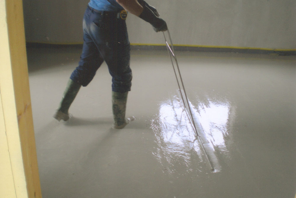 B Doherty Screeding –  Self Levelling Screed