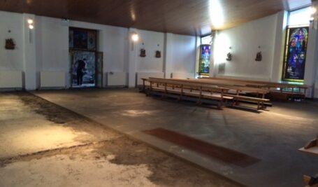 Floor Renovation in Four Roads Church Roscommon