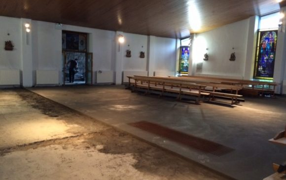 Floor Renovation in Four Roads Church Roscommon