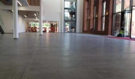Fast Track floor solution in QUB