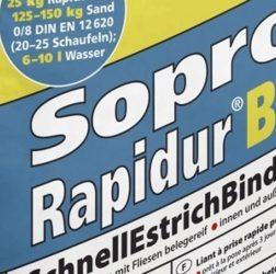 Rapidur® B5 Rapid Drying Screed Binder