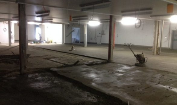 Around Noon Production Floor Renovation