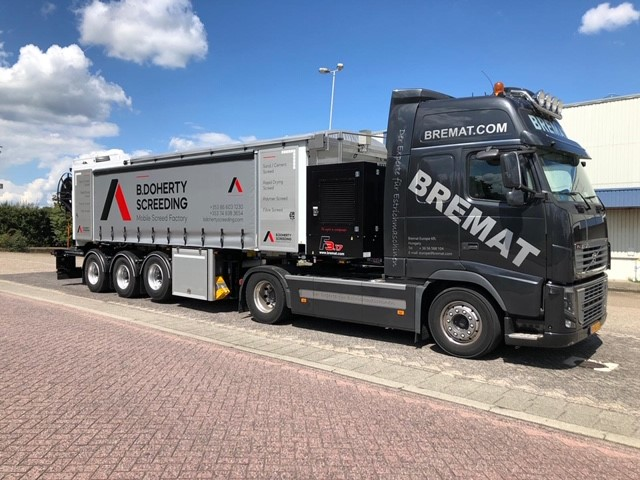 B Doherty Screeding Ltd – Mobile Screed Factory