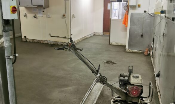 Fast Track Refurbishment in Hotel Co Cork | Rapidur® B5 Rapid Drying Screed