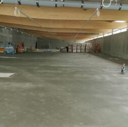 B Doherty Screeding - Mobile Screed Factory_sand cement fibre screed_Lidl in Donegal
