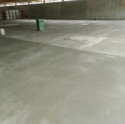 Mobile Screed Factory_sand cement fibre screed_Lidl in Donegal