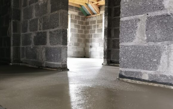 Walls Construction | Cabinteely Dublin | Mobile Screed Factory