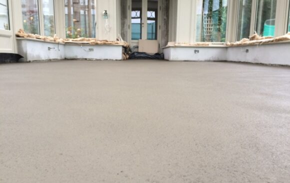 Fast Track Screed Flooring | private house in Mullingar