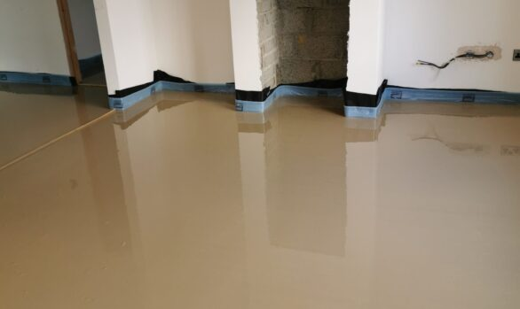 Alpha Hemihydrate and SMET LiteFlo® Liquid Screed | Self Build West Donegal