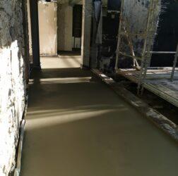 Mobile Screed Factory_Rapidur EB5 Rapid Drying Floor Screed_Ballsbridge Dublin _B Doherty Screeding