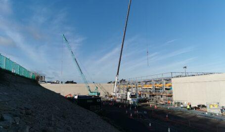 Rapidur® EB5 Rapid Drying Sand / Cement Floor for Murphy Group   Stillorgan Reservoir