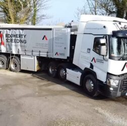 b doherty screeding services mobile screed factory redcastle donegal
