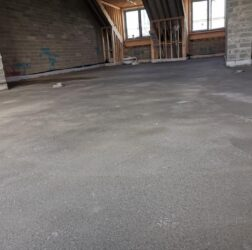 Andrews Construction | Fibre Sand & Cement | Penthouses | B Doherty Mobile screed Factory