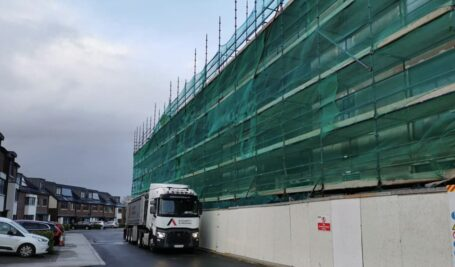 75 mm Sand and Cement Fibre Screed | Andrews Construction | Portmarnock Penthouse Apartments