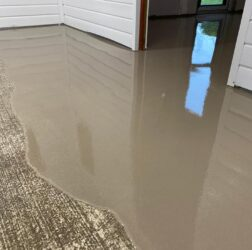 Sopro SLC 578 self levelling screed | Dungloe Community hospital | B Doherty Mobile Screed Factory
