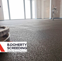 B Doherty Ltd | Mobile Screed Factory | Sand & Cement Fibre Screed