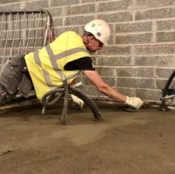20,000 m2 Rapidur® B5 Rapid Drying Floor Screed_