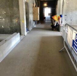 Mental Health Hospital Portrane_ Fast Floor Screed _CE Marked, EPD Certified Alpha Hemihydrate Screed