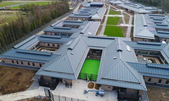 20,000 m2 Rapidur® B5 Screed | National Forensic Mental Health Service in Portrane