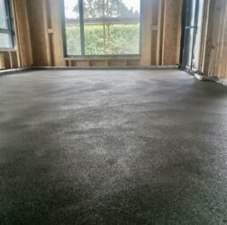 B Doherty Mobile Screeding_100mm over UFH_ polymer modified sand and cement screed_Kilkock