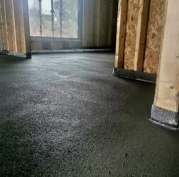 Polymer modified sand and cement screed_B Doherty Mobile Screed Factory_100mm over UFH_ Kilkock