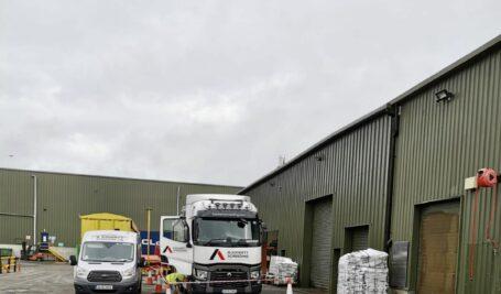 Tayto Factory | Rapidur® EB5 Rapid Drying Sand / Cement Floor for MG Ashbourne